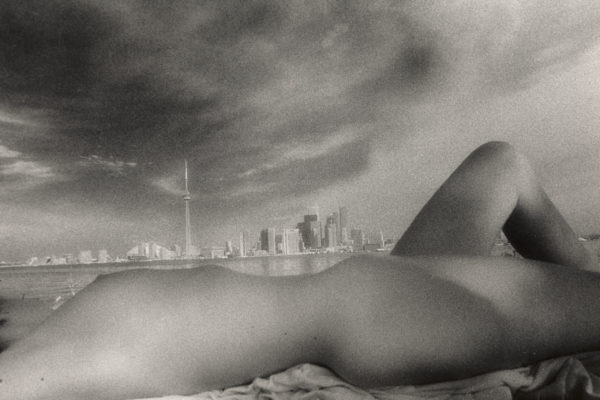 Nir Bareket, On the beach, 1989, Gelatin & silver, 16X 20