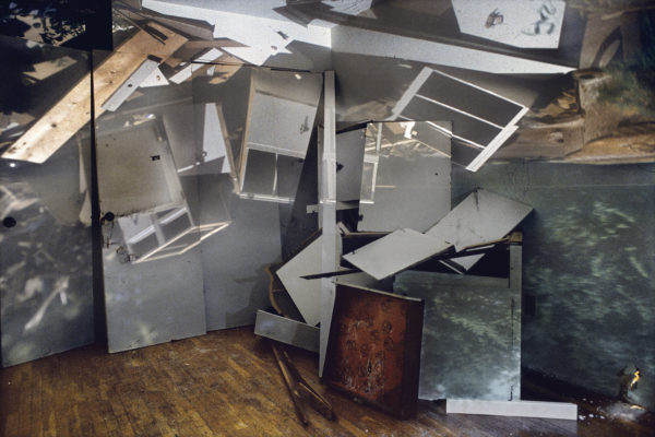 James Nizam, Pile of Cabinets in A Room, 2007, 24 x 36
