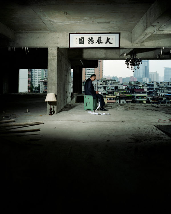 anothermountainman, Guangzhou/China 2006, Archival print   80 in x 44 in