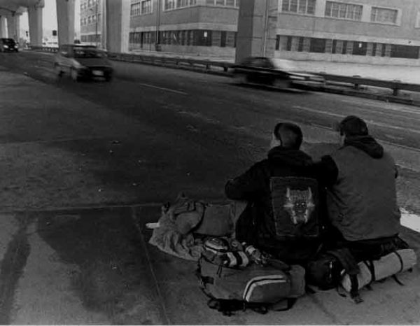 Greg Hennessy, Help Us, 2003,  35mm photograph, 18  x 24 inches