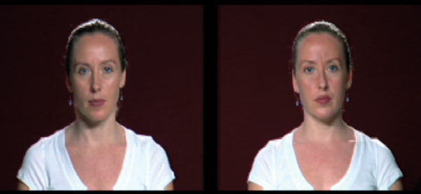 Sara Angelucci, Double Take, 2007, video still, size variable