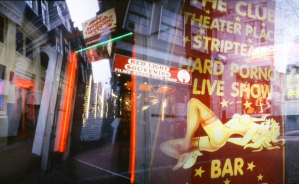 William Mokrynski, Red Lights (detail), 2005, Chromogenic Print, 16 x 72