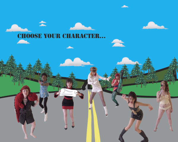 Heather Amyot, Choose your Character..., 2007, 16 x 20