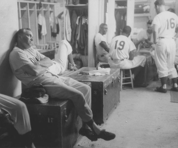 Dodger Clubhouse, 1956