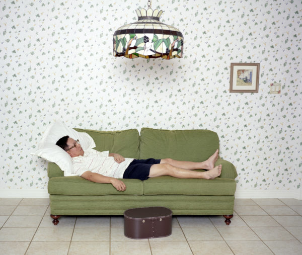 """Laurie Kang, My Father and I, 2007, C-Print, 20"""" x 24"""""""