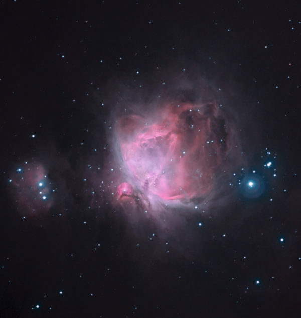 Stefano Cancelli, M42, The Great Nebula in Orion, 2005, Processed CCD, multiple exposures, 1733 x 1831