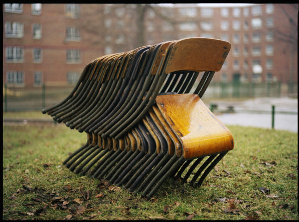 Scott Johnston, 17 Unconvinced Chairs - Regent Park, 2006, 40