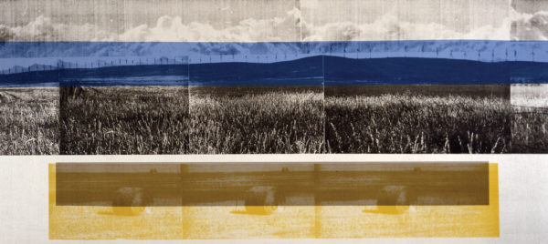 Sandi Ralph, Cowley Ridge, 2005, Screenprint, 24