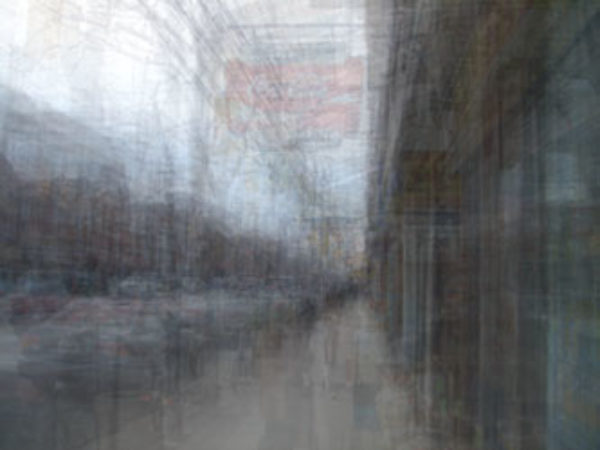 Jon Reed, Queen Street, 2007, Digital Photograph, 57 x 43