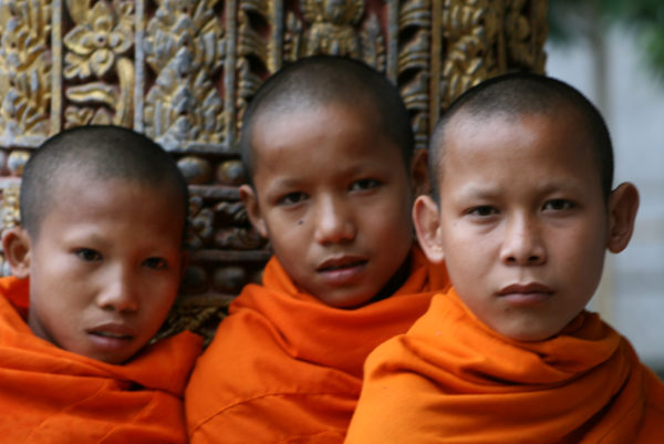 Christine Russell, Young Monks of the Village, 2008, Digital Colour Print