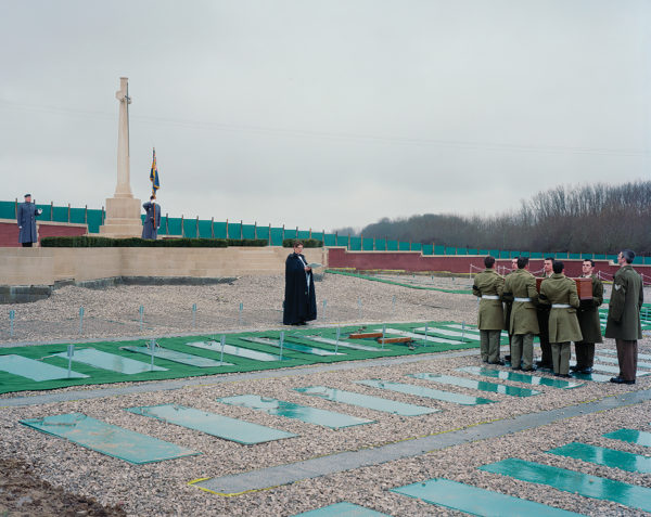 Daniel Alexander , Re-interred. One of two hundred and fifty military funerals, 2010. Courtesy of the artist.