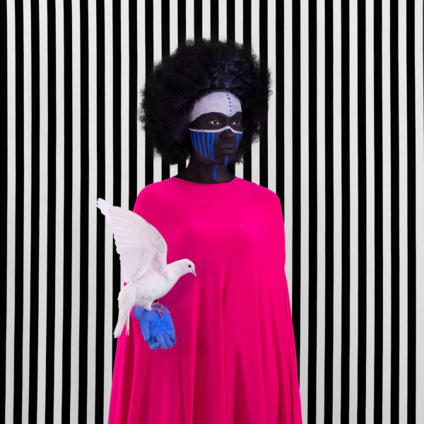 Aida Muluneh, Compromise, 2017. Courtesy of Jenkins-Johnson Gallery.